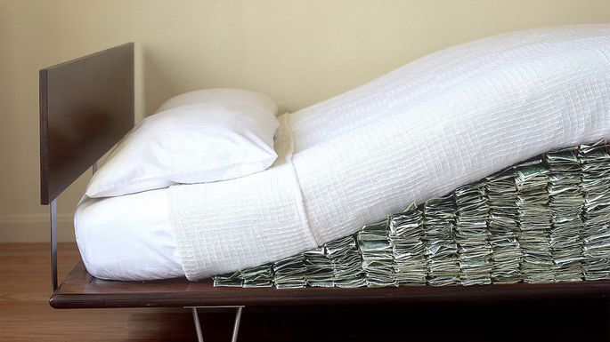 moneyundermattress
